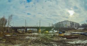 Мост Октябрьский проспект