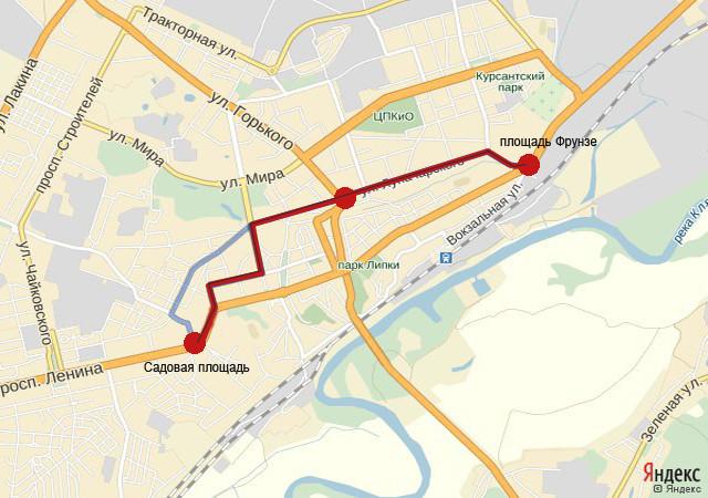 Схема Лыбедская магистраль