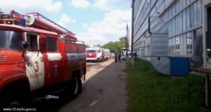 Ликвидация последствий взрыва на заводе Автоприбор