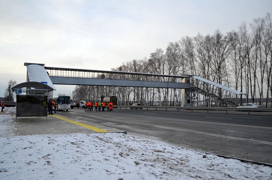 М7 Лакинск Надземный переход