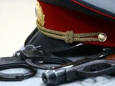 Арест полицейского