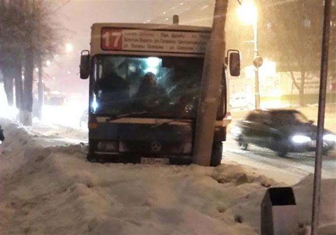 Авария улица Горького 02 февраля