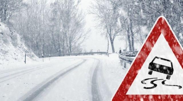 Снегопад и гололед