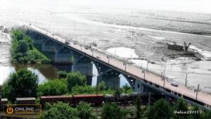 Мост через реку Клязьма (направление в Загородный парк)